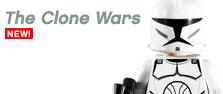 LEGO Star Wars : Clone Wars Logo (www.toysnbricks.com)