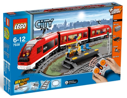 LEGO City 7938 Passenger Train - Toys N Bricks