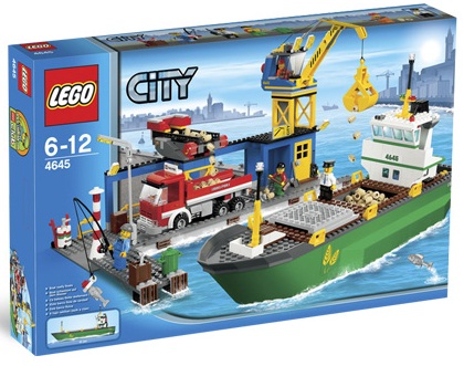 LEGO City 4645 Harbor - Toys N Bricks