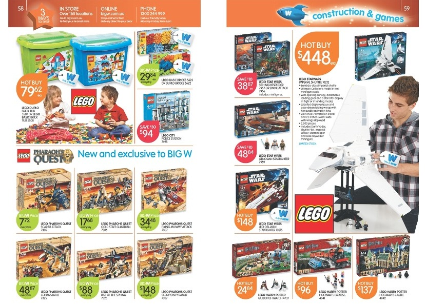 AU] Big W 2011 Summer Biggest Toy Sale – Toys N Bricks