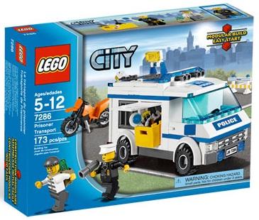 Us Amazon Com 25 Off Lego City 7286 Prisoner Transport Toys N Bricks