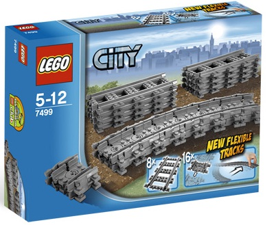 LEGO City 7499 Flexible and Straight Tracks - Toys N Bricks