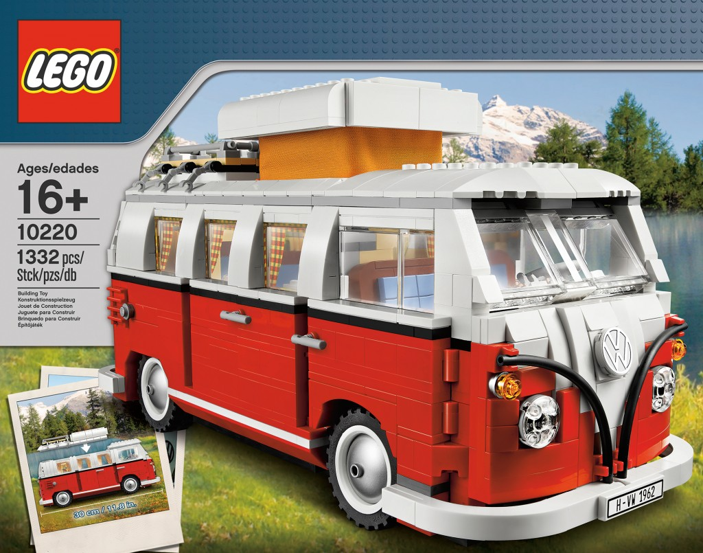 lego 10220 volkswagen t1 camper van press release toys n. Black Bedroom Furniture Sets. Home Design Ideas