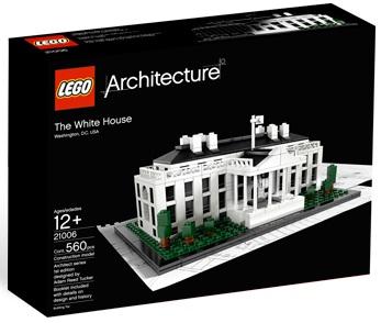 LEGO Architecture 21006 White House - Toysnbricks