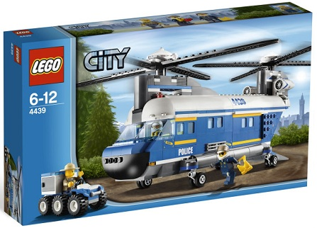 LEGO City 4439 Heavy-Lift Helicopter - Toysnbricks