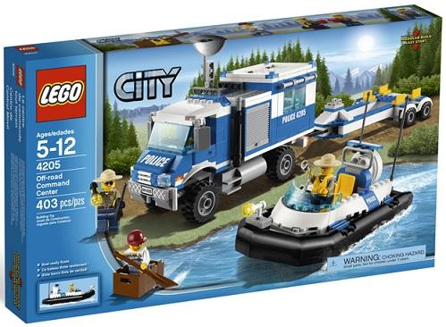 LEGO City 4205 Off-Road Command Center - Toysnbricks