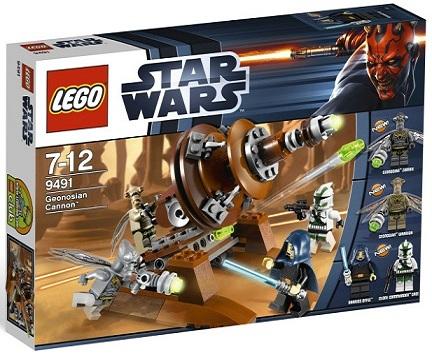 LEGO Star Wars 9491 Geonosian Cannon - Toysnbricks