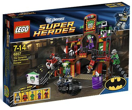 LEGO Superheroes 6857 The Dynamic Duo Funhouse Escape - Toysnbricks