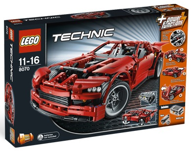 LEGO Technic 8070 Super Car - Toysnbricks