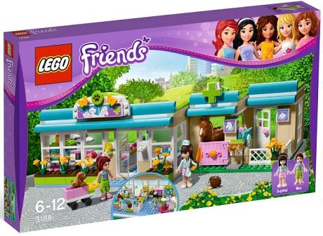 LEGO Friends 3188 Heartlake Vet - Toysnbricks