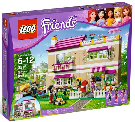LEGO Friends 3315 Olivia's House - Toysnbricks