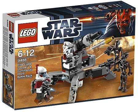 LEGO Star Wars 9488 Elite Clone Trooper & Commando Droid Battle Pack - Toysnbricks