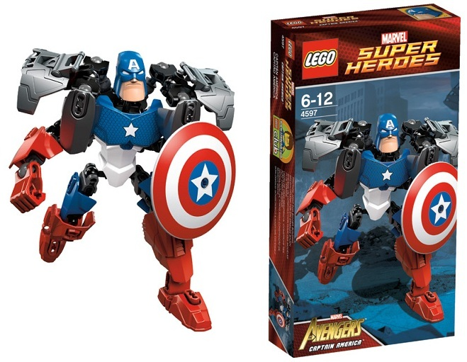 Captain America LEGO Sets