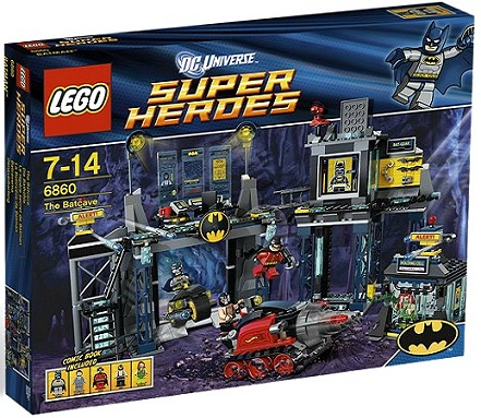 LEGO Superheroes 6860 The Batcave - Toysnbricks