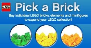 LEGO Pick a Brick Banner - Toysnbricks