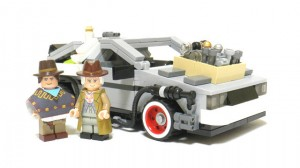 LEGO Cuusoo Back to the Future (BTTF) - DeLorean Time Machine
