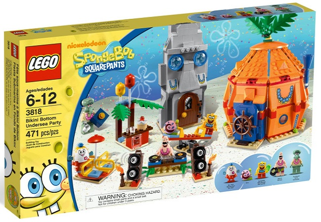 Mega Bloks Spongebob Toys. invalid category id. Mega Bloks Spongebob Toys. LEGO Headgear Light Gray Wolf Mask with Fangs and Claw Marks # [Loose] Add To Cart. There is a problem adding to cart. Please try again. You told us what you wanted and now we're delivering it.