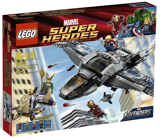 LEGO Superheroes 6869 Quinjet Aerial Battle - Toysnbricks