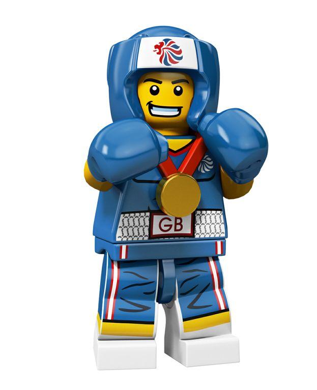LEGO 8909 Boxer Team GB Minifigures Toysnbricks Lego là phát minh có sức ảnh hưởng hơn hết của thế giới đồ chơi trẻ em