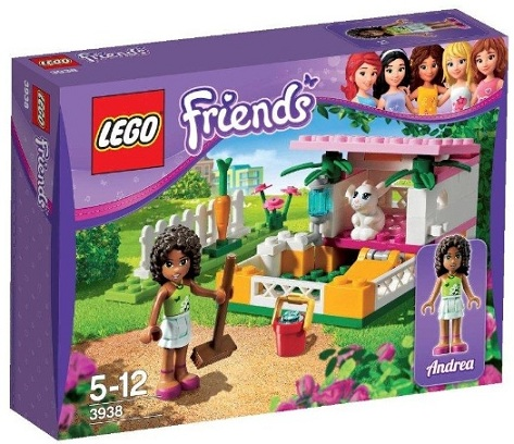 LEGO Friends 3938 Andreas Rabbit Hutch - Toysnbricks