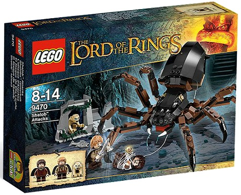 LEGO Lord of the Rings 9470 Shelob Attacks - Toysnbricks