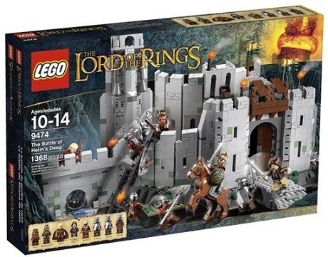 LEGO Lord of the Rings 9474 The Battle of Helm's Deep - Toysnbricks