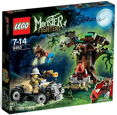 LEGO Monster Fighters 9463 The Werewolf - Toysnbricks