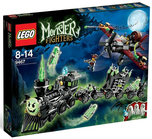 LEGO Monster Fighters 9467 Ghost Train - Toysnbricks