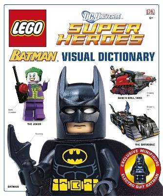 LEGO Superheroes Batman Visual Dictionary - Toysnbricks