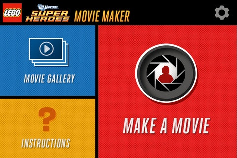 how to make a lego movie on ipad