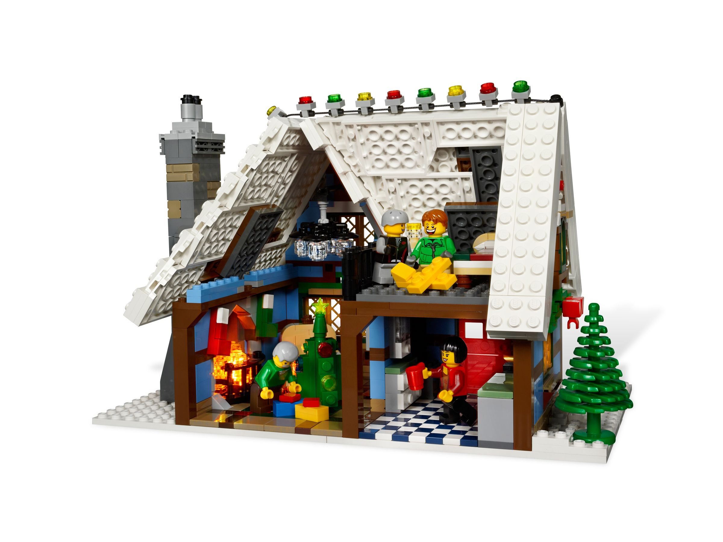 lego winter village cottage 2012 toys n bricks Stant 10229 LEGO Creator Winter Cottage