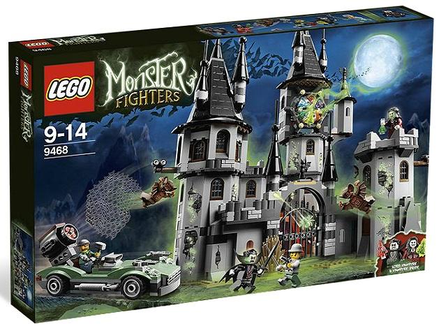 LEGO Monster Fighters 9468 Vampyre Castle - Toysnbricks