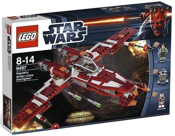 LEGO Star Wars 9497 Republic Striker-class Starfighter - Toysnbricks
