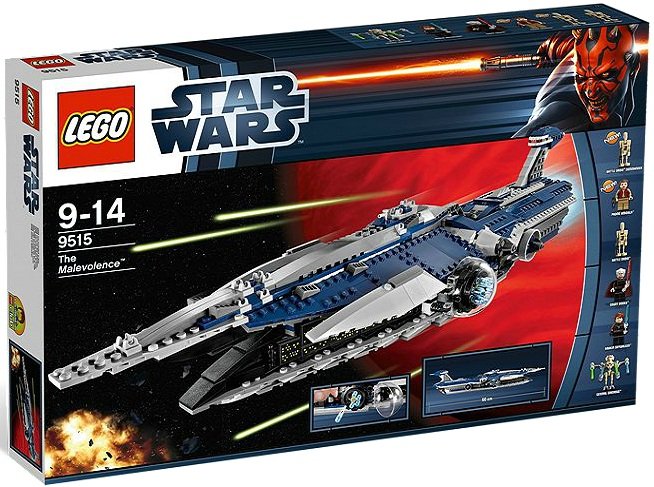 LEGO Star Wars 9515 The Malevolence - Toysnbricks