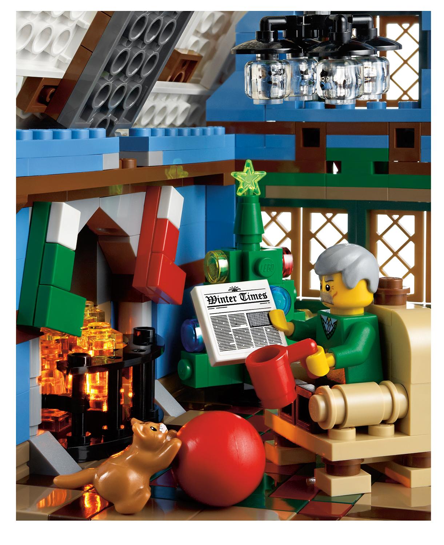 toys n bricks lego news site sales  deals  reviews LEGO Creator Winter Village Cottage 10229 Christmas lego winter village cottage 10229 instructions