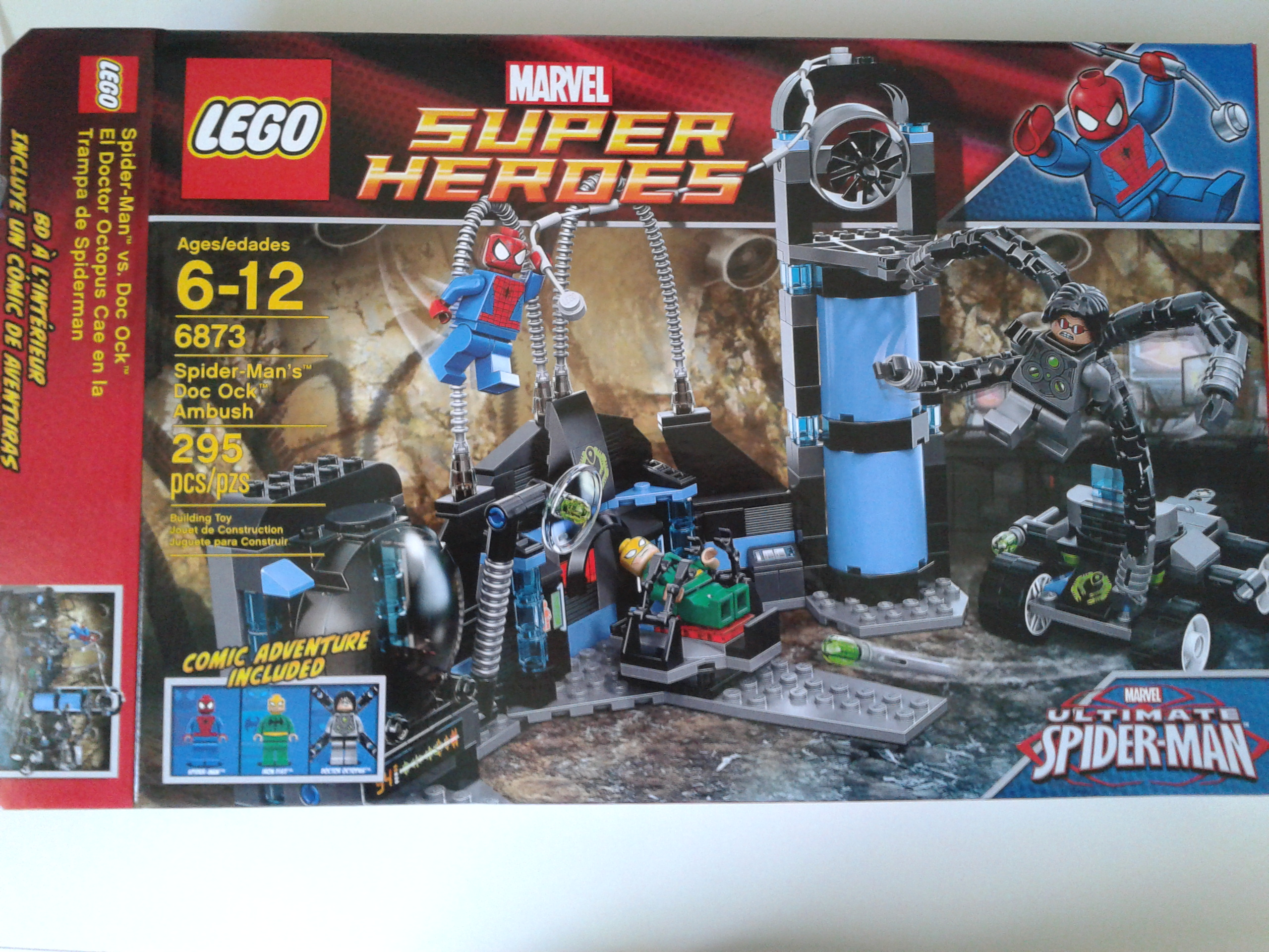 lego spider man 3 sets - photo #7