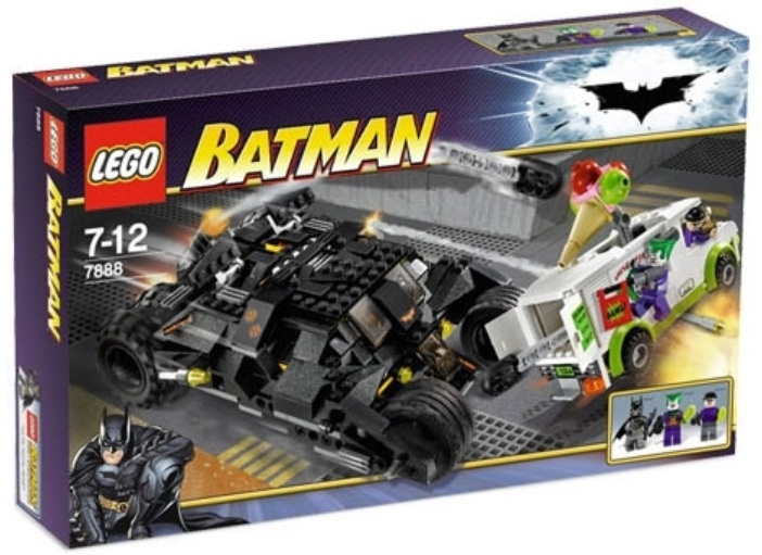 Lego batman the tumbler joker s ice cream surprise 7888 toysnbricks