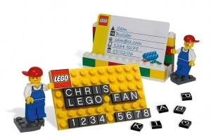 LEGO Business Card Holder 850425 - Toysnbricks