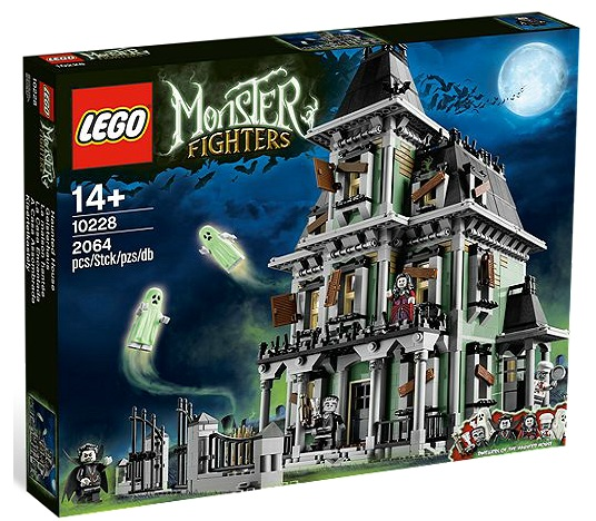 LEGO Monster Fighters Haunted House 10228 - Toysnbricks