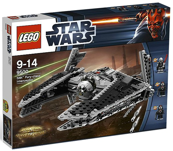 LEGO Star Wars 9500 Sith Fury-class Interceptor - Toysnbricks