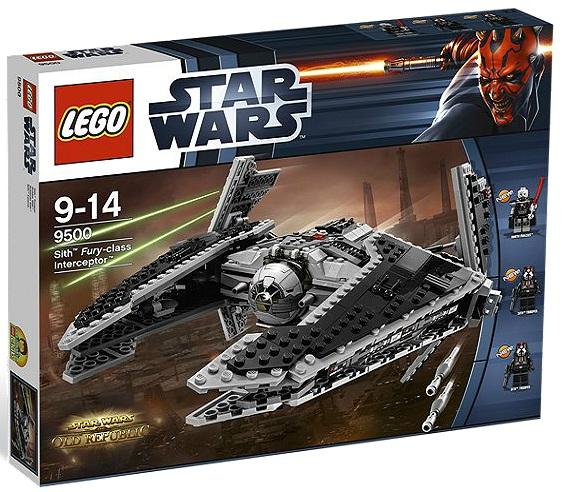 LEGO Star Wars 9500 Sith Fury-class Interceptor - Toysnbricks