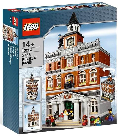 LEGO Creator Town Hall 10224 - Toysnbricks