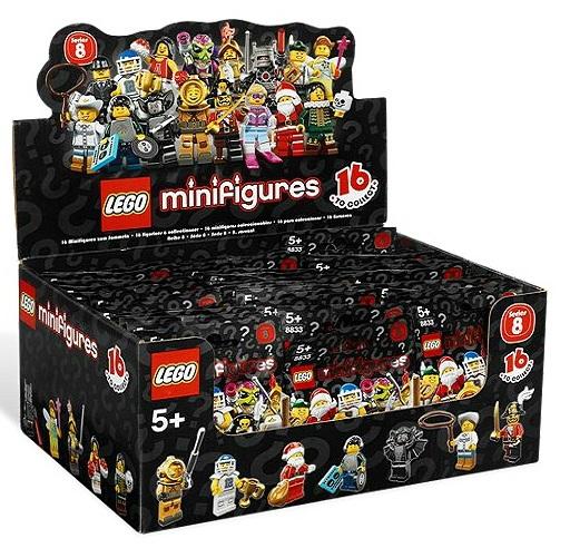 LEGO Minifigures Series 8 8833 Box - Toysnbricks