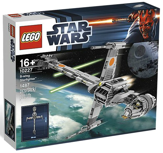 LEGO Star Wars B-wing Starfighter 10227 - Toysnbricks