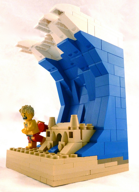 how to build a lego tsunami