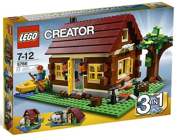 LEGO Creator Log Cabin 5766 - Toysnbricks