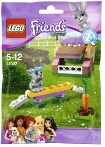 LEGO Friends Series 2 Bunny's Hutch 41022