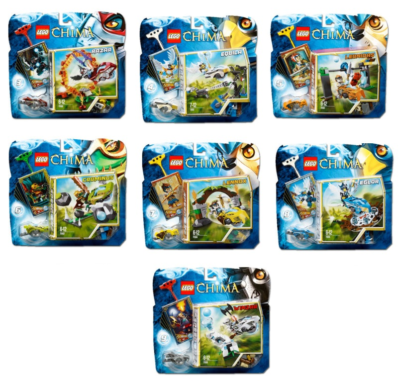 LEGO Legends of Chima Speedorz (70100 70101 70102 70103 70104 70105