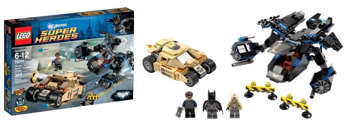 LEGO Super Heroes The Bat vs 76001 Bane Tumbler Chase
