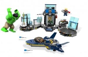 LEGO Superheroes Hulk's Helicarrier Breakout 6868 - Toysnbricks
